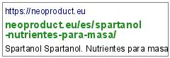 https://neoproduct.eu/es/spartanol-nutrientes-para-masa/